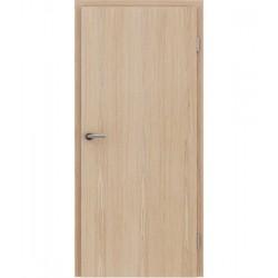 Furnirana sobna vrata s uspravnom strukturom GREENline - hrast europski brušeni bijeli uljeni