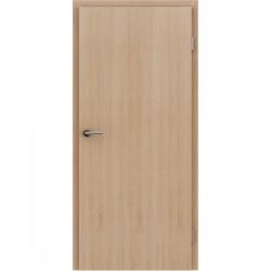 Furnirana sobna vrata s uspravnom strukturom GREENline - hrast europski bijeli uljeni