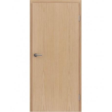 Furnirana unutrašnja vrata s uspravnom strukturom GREENline - hrast europski brušeni mat luženi lakirani