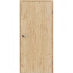 Furnirana unutrašnja vrata s uspravnom strukturom GREENline - hrast grča brušeni mat luženi lakirani