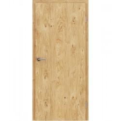 Furnirana unutrašnja vrata s uspravnom strukturom GREENline - hrast grča brušeni uljeni