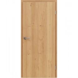 Furnirana unutrašnja vrata s uspravnom strukturom GREENline - hrast grča natur lakirani