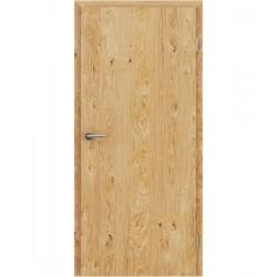 Furnirana unutrašnja vrata s uspravnom strukturom GREENline - hrast grča uljeni