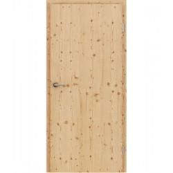 Furnirana unutrašnja vrata s uspravnom strukturom GREENline - ariš grča brušeni mat luženi lakirani