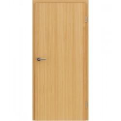 Furnirana unutrašnja vrata s uspravnom strukturom GREENline - ariš brušeni natur lakirani