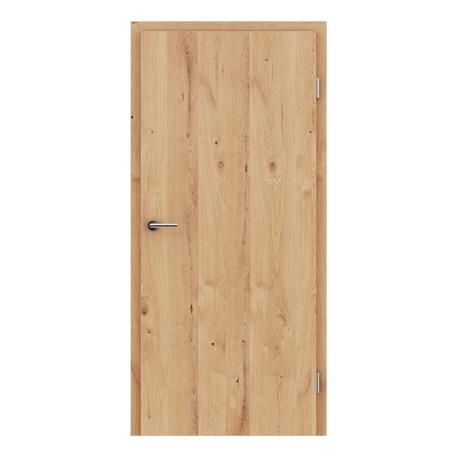 Furnirana unutrašnja vrata s uspravnom strukturom GREENline - hrast grča pukotina uljeni
