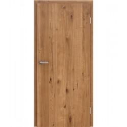 Sobna vrata s uspravnom strukturom GREENline PRESTIGE - hrast Altholz mat lakirani