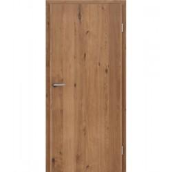 Furnirana sobna vrata s uspravnom strukturom GREENline PRESTIGE - hrast Altholz uljeni